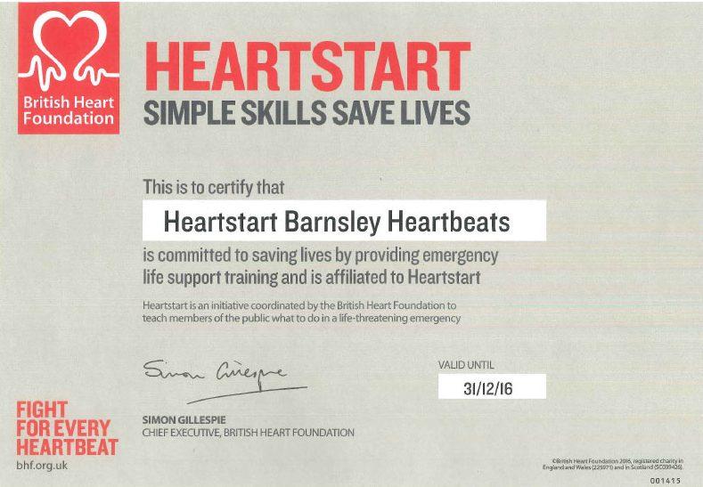 Heartstart-Barnsley-Heartbeats-Certificate