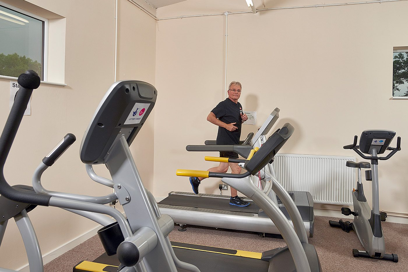 Treadmills at Barnsley LTE Heart Support