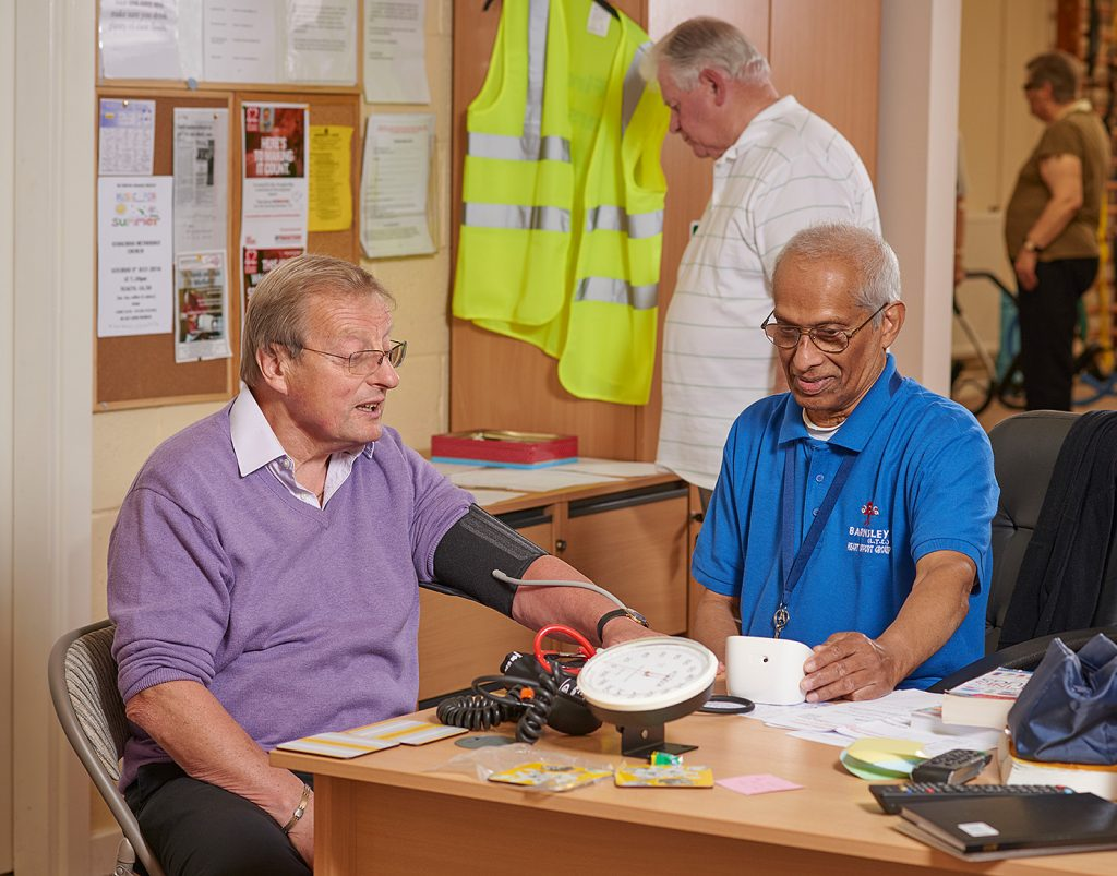 Barnsley LTE Heart Support Group volunteers
