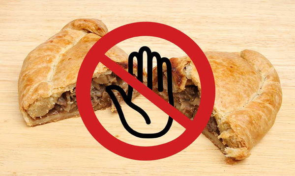 No Meat Pies thank you