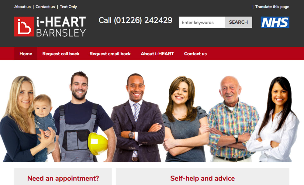 iHeartBarnsley website