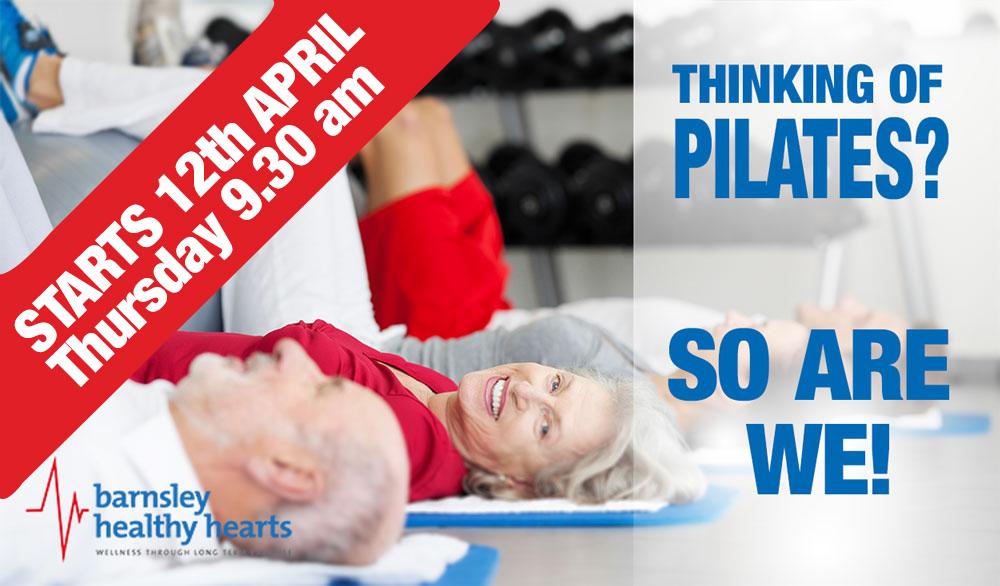 Pilates Starts 12 April 2018