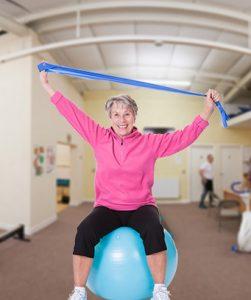 Barnsley LTE Pilates stretch