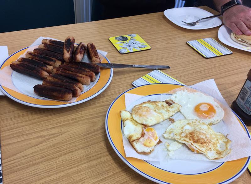 Sausage-and-egg